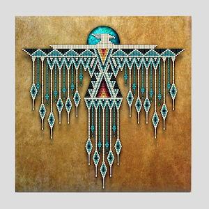 Southwest Native Style Thunderbird Tile Coaster