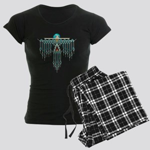 Southwest Native Style Thund Women's Dark Pajamas