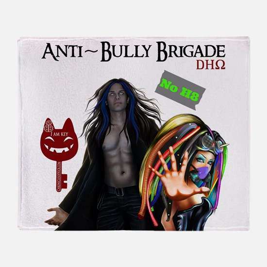 Anti Bully Brigade ~ Dhorigins Throw Blanket