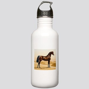 Vintage Arabian Horse Stainless Water Bottle 1.0L