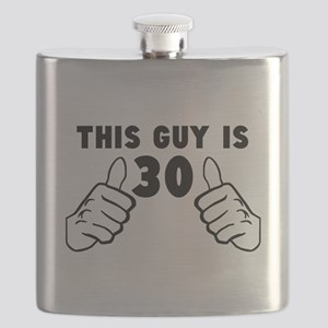 This Guy Is 30 Flask