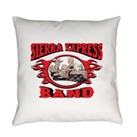 Sierra Express Band Everyday Pillow