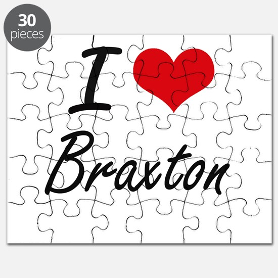 I Love Braxton Puzzle