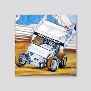 "Coming in hot! Square Sticker 3"" x 3"""