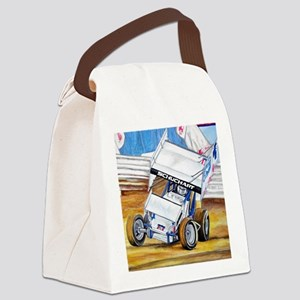 Coming in hot! Canvas Lunch Bag