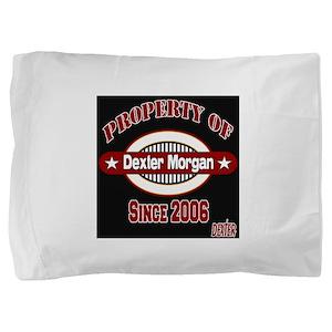 Property Of Dexter Morgan RED black Pillow Sha