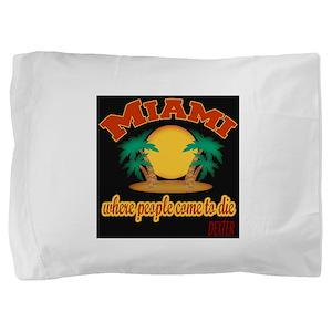 Dexter Miami To Die black Pillow Sham
