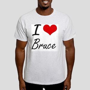 I Love Bruce T-Shirt