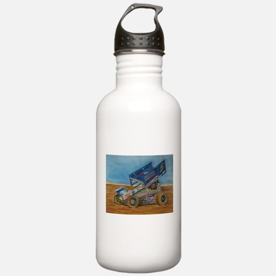 5 at lincoln Water Bottle