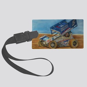 5 at lincoln Large Luggage Tag