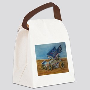 5 at lincoln Canvas Lunch Bag