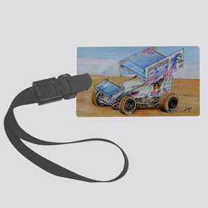 1S at Lincoln Large Luggage Tag