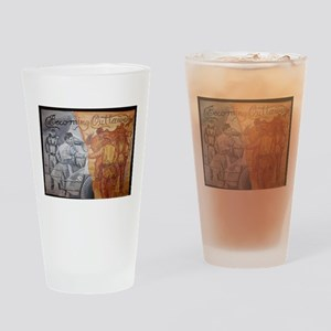 Becoming Outlaws Drinking Glass