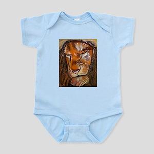 lion pop-out Body Suit