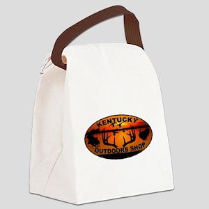 Kentucky Outdoors Shop Logo Canvas Lunch Bag