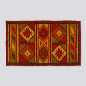 Indian Blanket 5 Area Rug