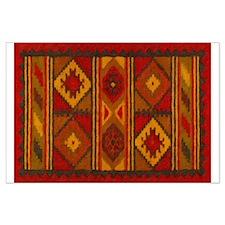 Indian Blanket 5 Large Poster