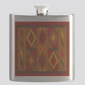 Indian Blanket 5 Flask