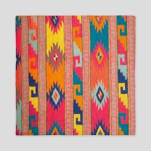 Indian Blanket 4 Queen Duvet