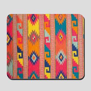 Indian Blanket 4 Mousepad