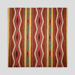 Indian Blanket 3 Queen Duvet