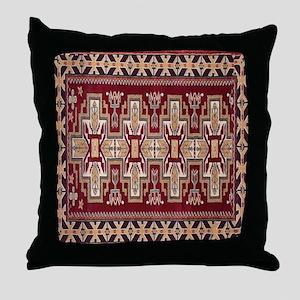 Indian Blanket 2 Throw Pillow