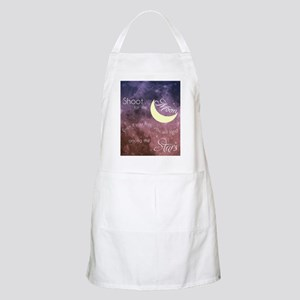 Motivational Les Brown Shoot for the Moon Apron