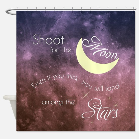 Motivational Les Brown Shoot for th Shower Curtain