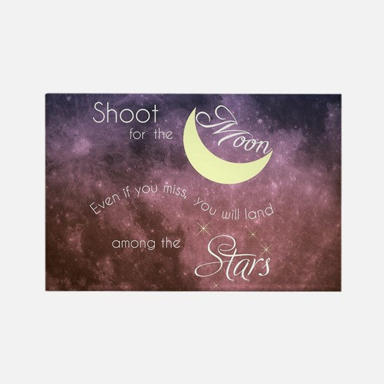 Motivational Les Brown Shoot for the Moon Magnets