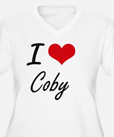 I Love Coby Plus Size T-Shirt