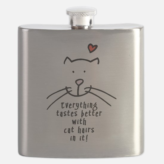 Everything tastes better with cat hairs in i Flask