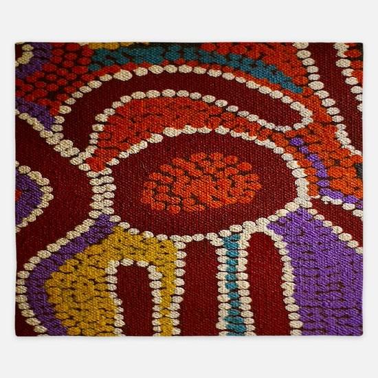 Australian Aboriginal King Duvet