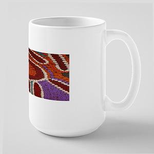 Australian Aboriginal Large Mug