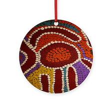 Australian Aboriginal Round Ornament
