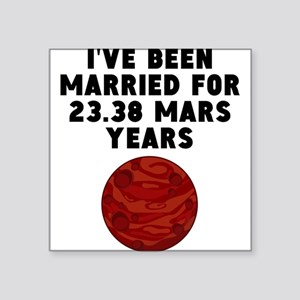 44th Anniversary Mars Years Sticker
