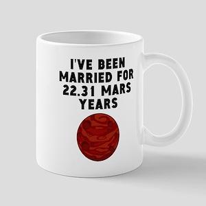 42nd Anniversary Mars Years Mugs