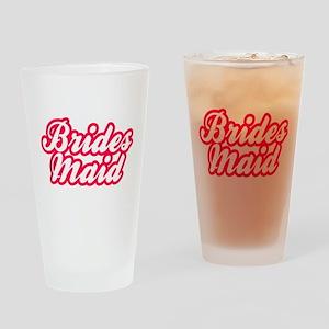 Brides Maid Drinking Glass