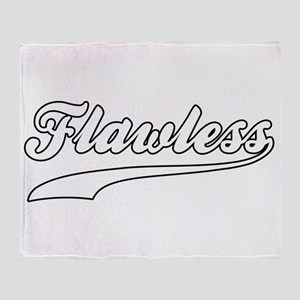 Flawless Throw Blanket