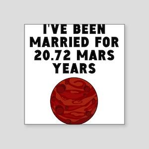 39th Anniversary Mars Years Sticker