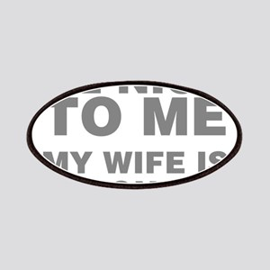 Be Nice To Me My Wife Is Pregnant Patch