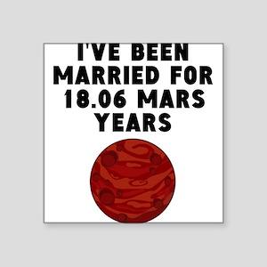 34th Anniversary Mars Years Sticker