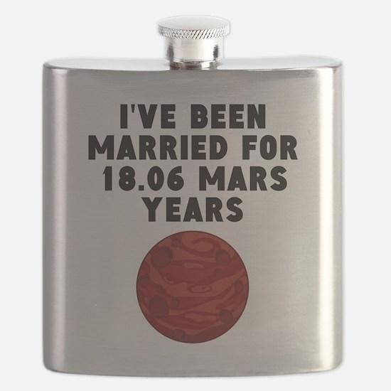 34th Anniversary Mars Years Flask