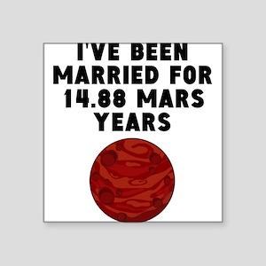 28th Anniversary Mars Years Sticker