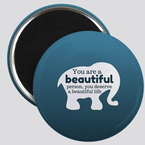 Cute Elephant Quote Magnets
