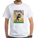 Spring-Aussie (Tri-L) White T-Shirt