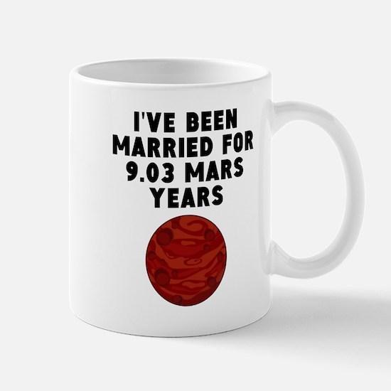 17th Anniversary Mars Years Mugs
