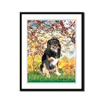Spring-Aussie (Tri-L) Framed Panel Print
