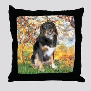 Spring-Aussie (Tri-L) Throw Pillow
