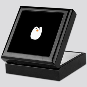 Cute Penguin Keepsake Box