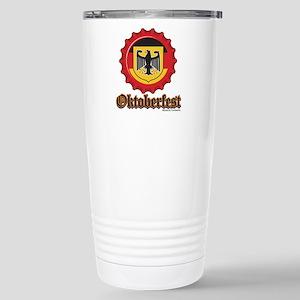 Octoberfest Bottle Cap Travel Mug
